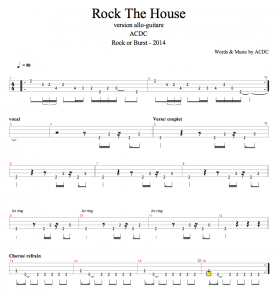 ACDC - rock the house
