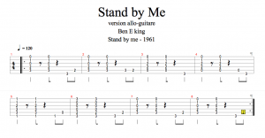 stand by me guitar