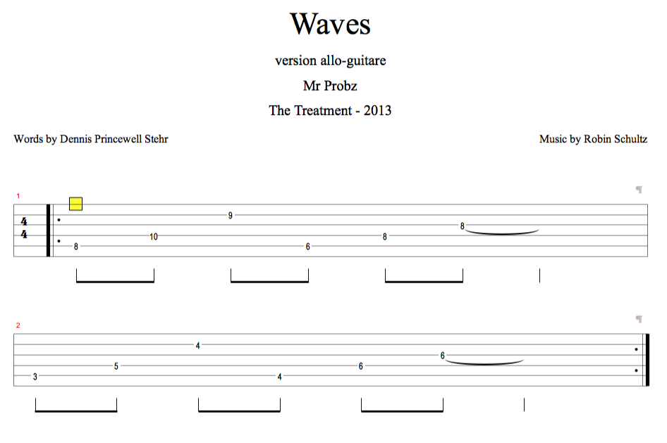 mr Probz. Waves